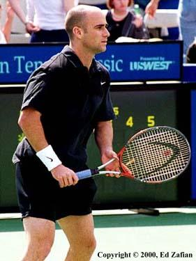 Andre Agassi (2000 Franklin Templeton Classic in Scottsdale)