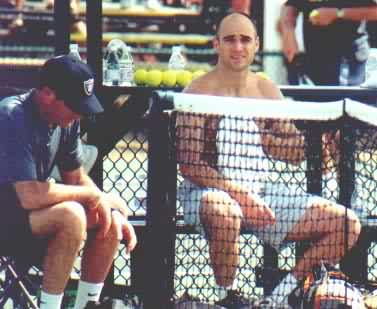 Andre Agassi (2000 Indian Wells)