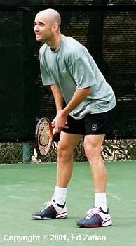 Andre Agassi (2001 Franklin Templeton in Scottsdale)
