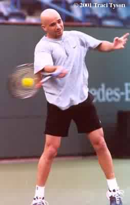 Andre Agassi (2001 Indian Wells)