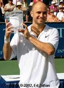 Andre Agassi (2002 Franklin Templeton in Scottsdale)