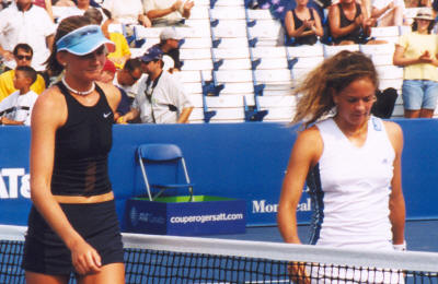 Daniela Hantuchova and Patty Schnyder