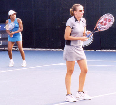 Chanda Rubin and Natasha Zvereva