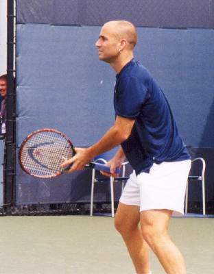 Andre Agassi (2002 US Open)