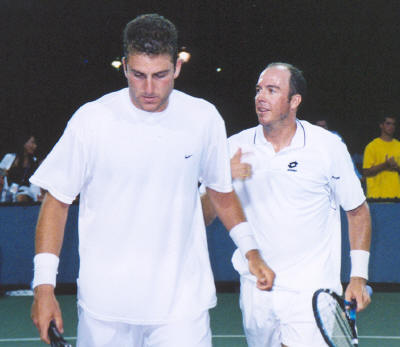 Justin Gimelstob and Jeff Tarango (2002 US Open)