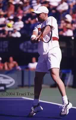 Andre Agassi (2004 Indian Wells)