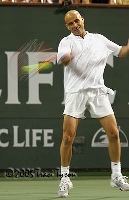 Andre Agassi (2005 Indian Wells)