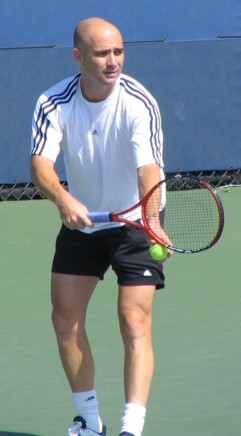 Andre Agassi (2005 US Open)