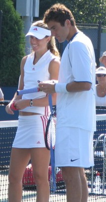Justin Gimelstob and Meghann Shaughnessy (2005 US Open)