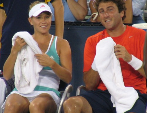 Justin Gimelstob and Ashley Harkleroad (2007 US Open)